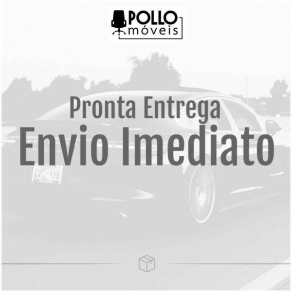 10662256064 pronta 27 Poltrona Presidente Tela ANM-312P - C/ Encosto de Cabeça - Cor Preto - BLUME - 32981