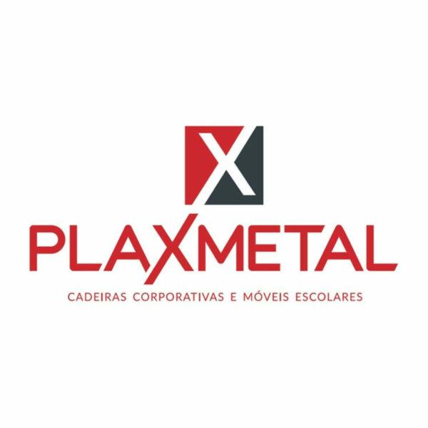 10680387002 plaxmetal 7 Cadeira Presidente PLUS BACK SYSTEM Baixa Costurada c/ Braços Reguláveis - Corino Preto - PLAXMETAL - 32974