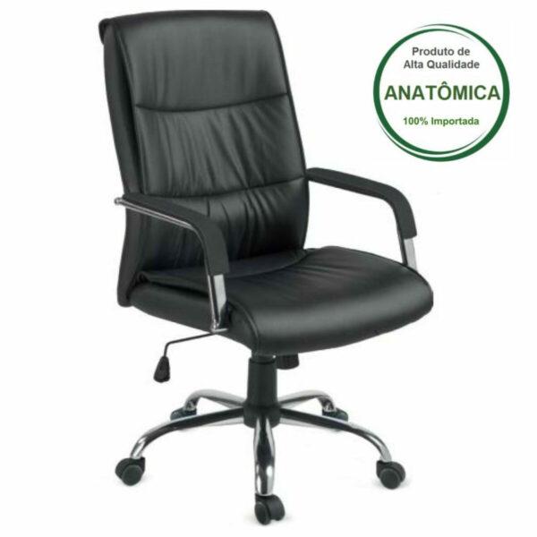 10932612577 107p Poltrona Diretor Estofada - Office (107p) - HOSANA - 30002
