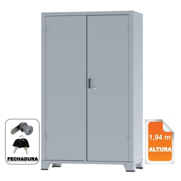 12114 CAPA 2 Armário de Aço c/ 02 portas - PA 120 - 1,98x0,1,20x0,40m - CHAPA # 26 - AMAPA - 12114