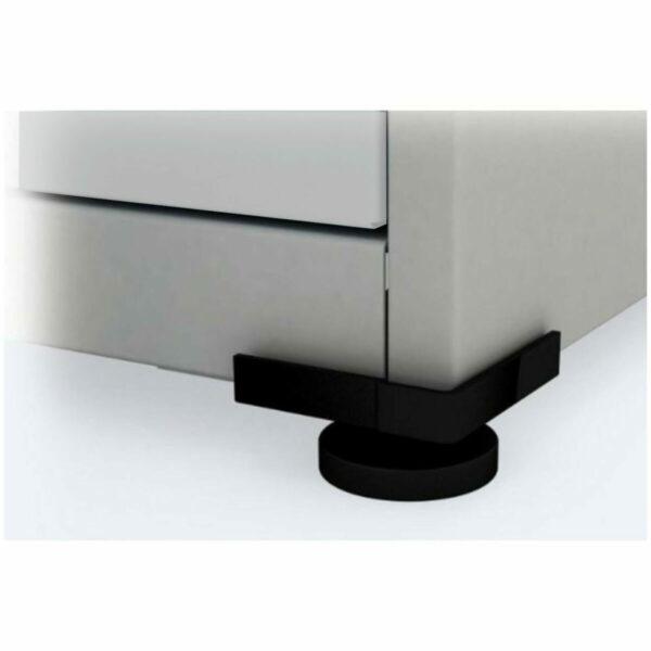 7956462725 Porta.Cinza Arquivo de Aço 04 Gav - CHAPA # 26 - S/ TRILHO - (57cm) - 1,36x0,47x0,57m - CZ/CZ - PANDIN - 13001 .