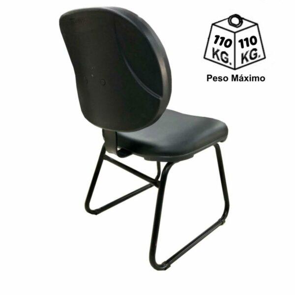 7983931487 peso trapezio Cadeira Executiva LISA Base Trapézio - MARTIFLEX - Cor Preta - 31030
