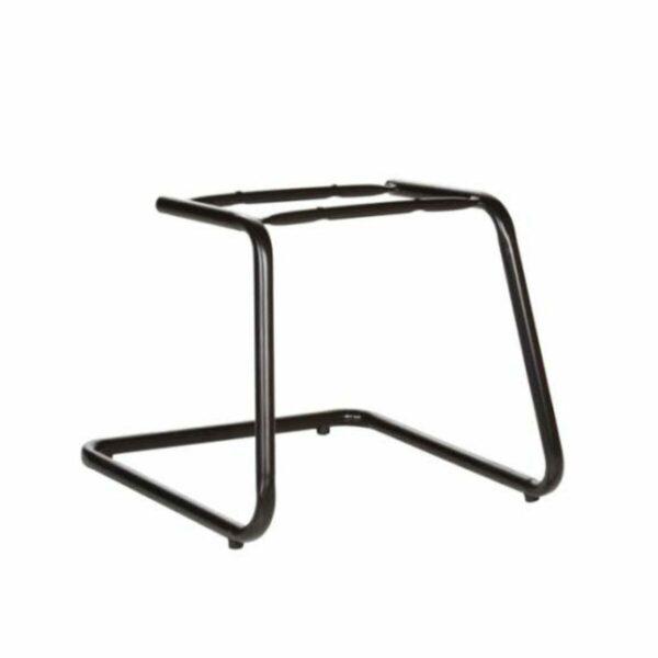 """7986189813 Desenho20sem20titulo Cadeira Executiva Costurada Base em """"S"""" PRETA - Cor Preta - MARTIFLEX - 31014"""