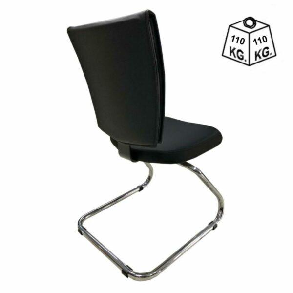 """7986982294 peso Cadeira Escritório B-ONE Base em """"S"""" CROMADA - MARTIFLEX - 31033"""