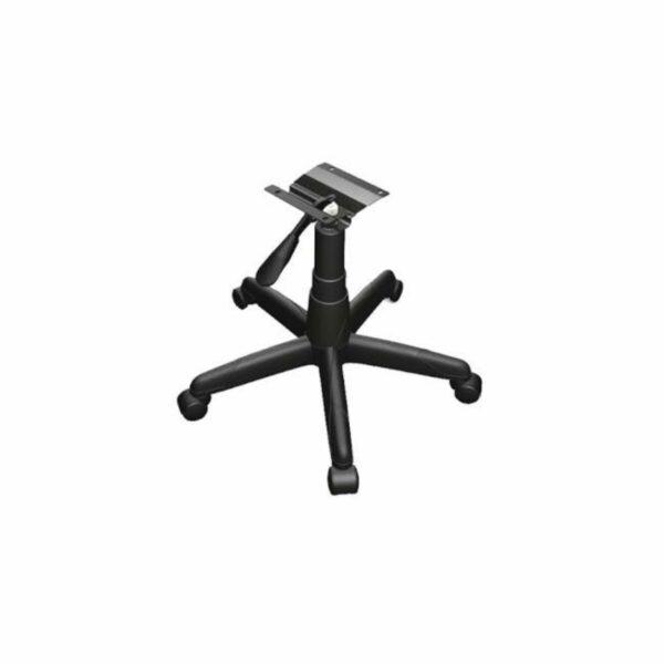 7987590424 aranha Cadeira B-ONE Giratória com Braços Reguláveis - Cor Preta - MARTIFLEX - 31009