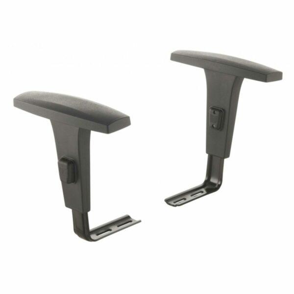 7987590982 bracos Cadeira B-ONE Giratória com Braços Reguláveis - Cor Preta - MARTIFLEX - 31009