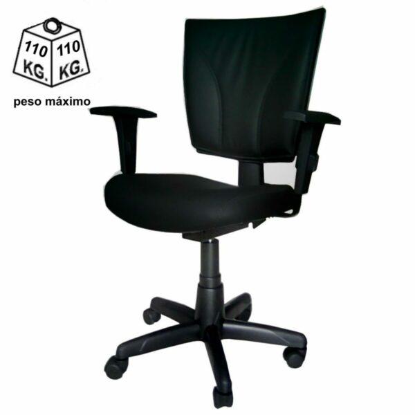 8004332048 corrigir cor Cadeira B-ONE Back System com Braços Reguláveis - Cor Preta - MARTIFLEX - 31010