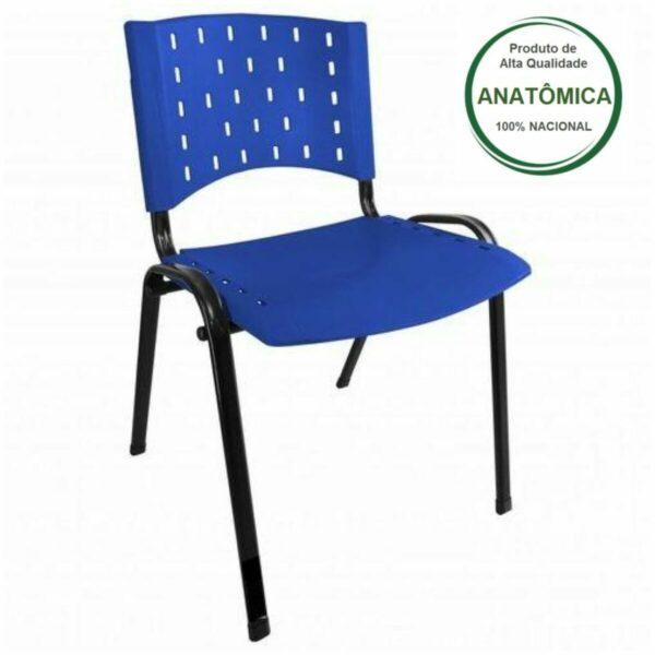 8011143812 45583090 2GG Cadeira Plástica 04 pés - Plástico AZUL - REALPLAST - 31281