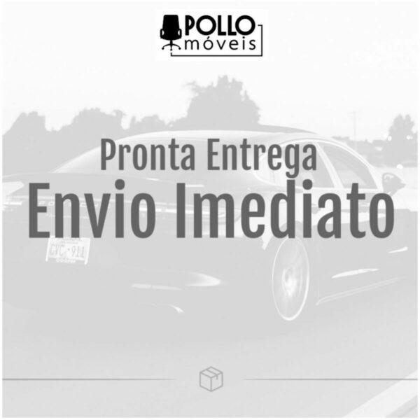 8014723700 envio imediato Cadeira Secretária Trapézio - Corino Preto - MARTIFLEX - 31103