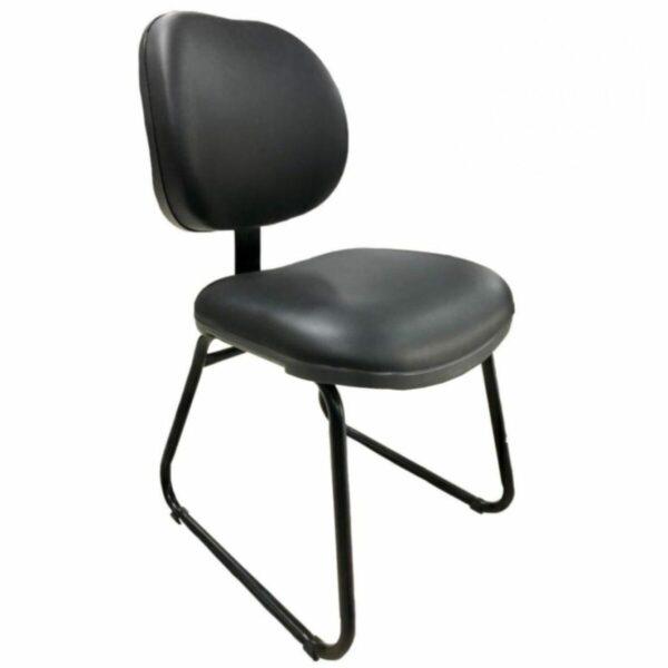 8135466535 Sem20titulo Cadeira Executiva LISA Base Trapézio - MARTIFLEX - Cor Preta - 31030