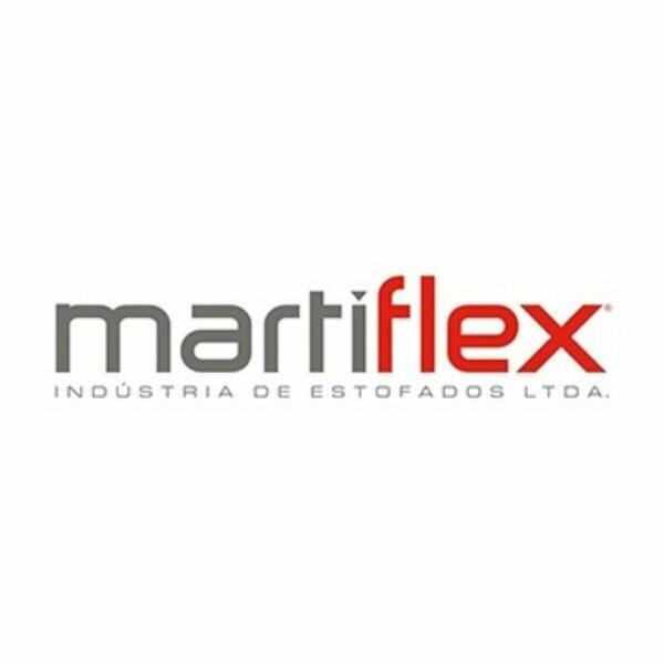 Longarina EXECUTIVA Costurada 02 Lugares - Cor Preta - MARTIFLEX - 33075