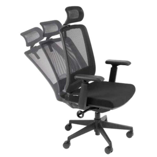 9250895845 regulagem 2 Cadeira Presidente Tela TUNE Home Office C/ Encosto de Cabeça - AVANTTI - 32993