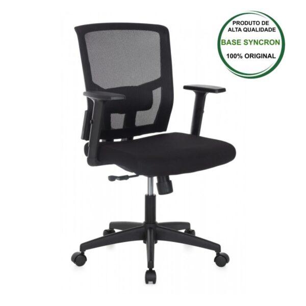 9687016451 BLM0223 2 Cadeira de Escritório Giratória Diretor Tela BLM0226 - 32985
