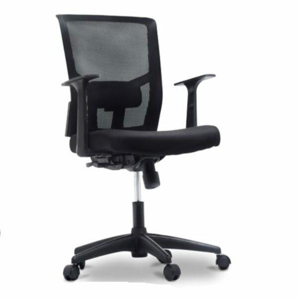 9687022777 frente 1 Cadeira de Escritório Giratória Diretor Tela BLM0226 - 32985