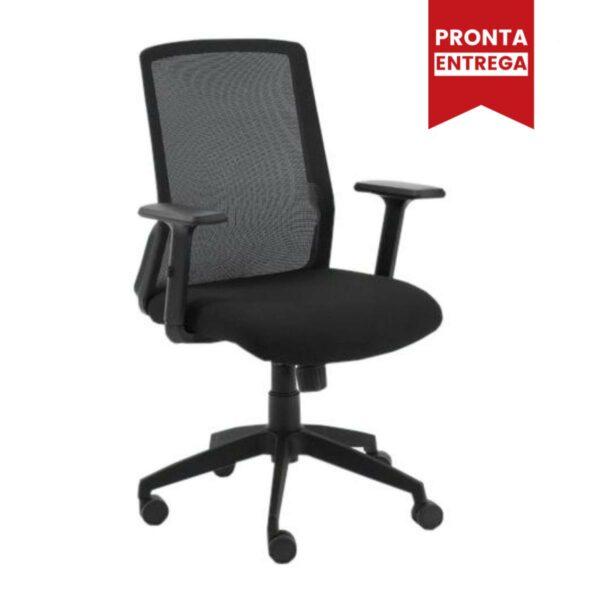 Desenho sem titulo 9 1 Cadeira Escritório Giratória Tela MEET - Cor Preta - AVANTTI - 33124