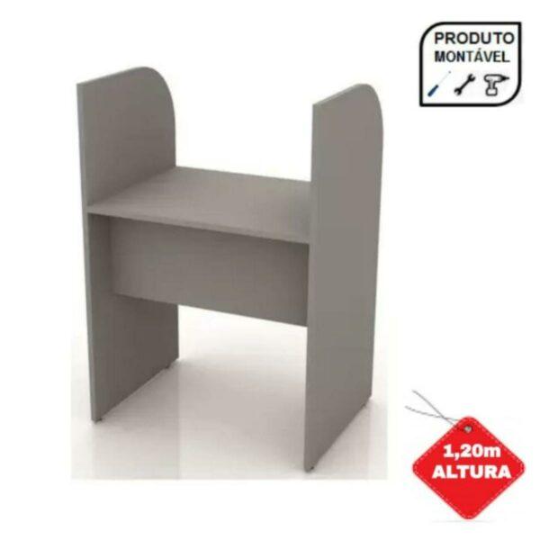 prod Baia INICIAL para Atendimento 1,20x0,80x0,60m - MARANELO - CINZA/CINZA - 24010