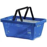 6866997668 images201 Cesto p/ Compras Plástico Azul - AMAPA - 14311
