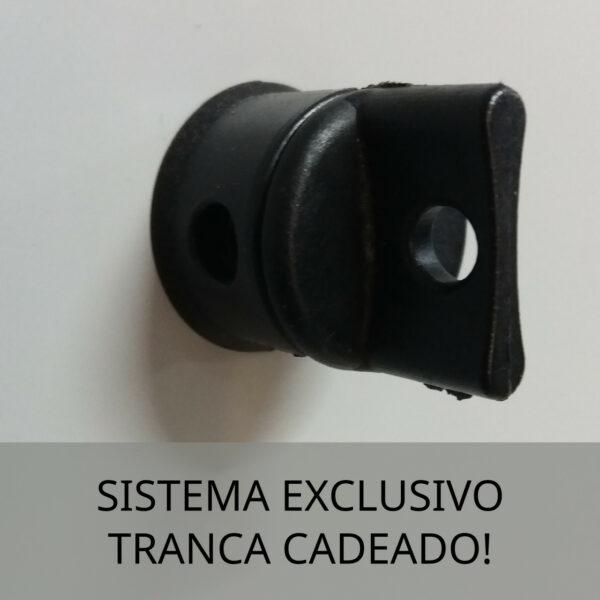 7840296375 sistema tranca cadeado 1 Roupeiro de Aço c/ 04 Portas Pequenas - 1,93x0,34x0,40m - CZ/CZ - PANDIN - 10005