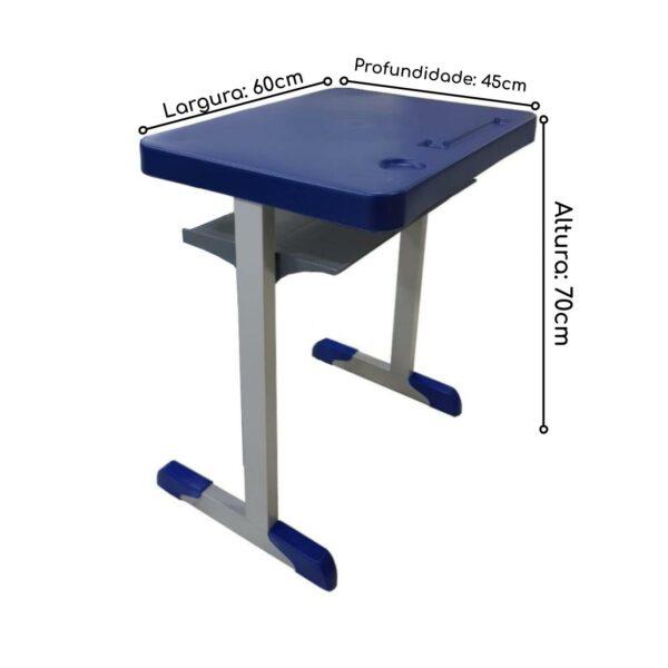 14375103250 Mesa Kit Escolar Individual – (Mesa e Cadeira) – INFANTIL 02 a 06 Anos – REALPLAST - 41089